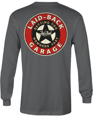 Garage Star-Long Sleeve T-Shirt