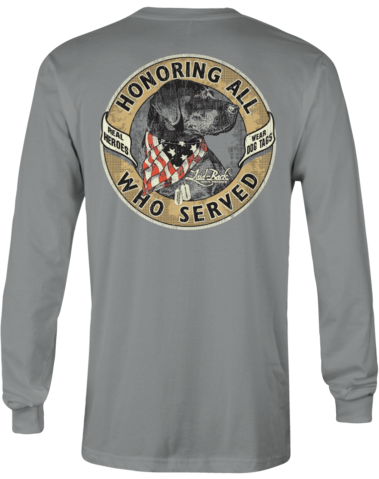 Industry Dog Tags-Long Sleeve T-Shirt