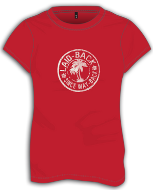 Palm Circle-Ladies T-Shirt