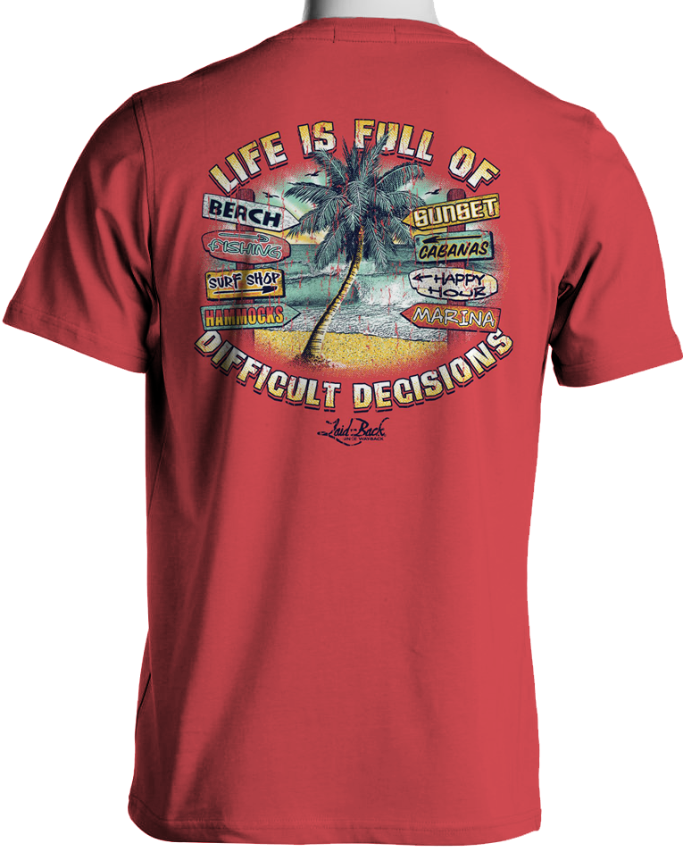 Palm Decisions-Chill T-Shirt