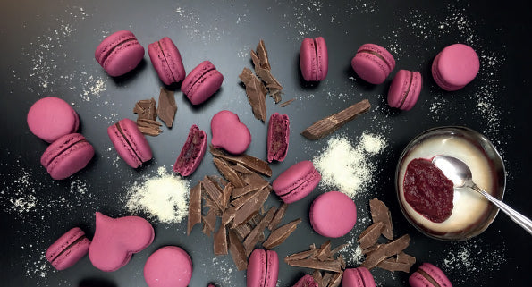cherry french macaroon recipe