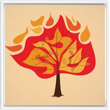 Load image into Gallery viewer, Shemos Burning Bush Framed Canvas Wrap