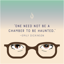 "Load image into Gallery viewer, ""One Need Not be a Chamber to be Haunted"" - Canvas Posters"
