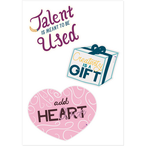 Creative Encouragement Stickers