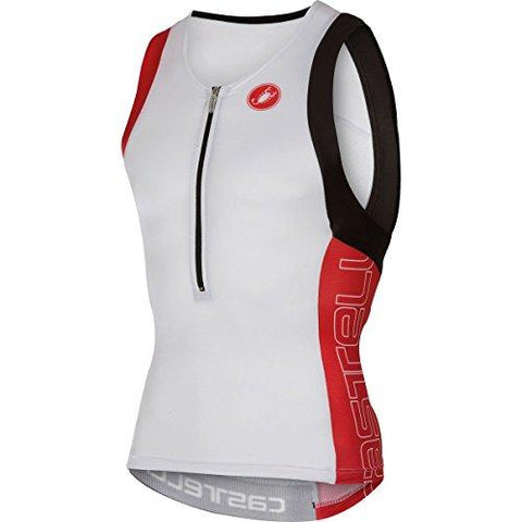 Castelli Free Tri Top - White