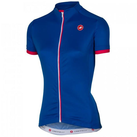 Castelli Anima Women's Jersey - Blue