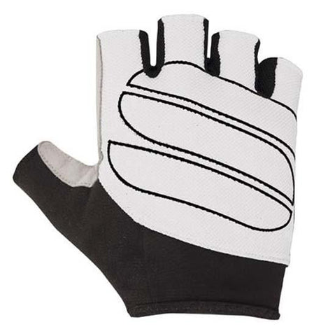 SPORTFUL ILLUSION GLOVES - WHITE