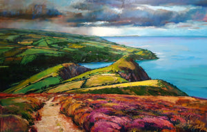 Heavy Sky over the Hangmen Giclee print (edition number 3/125 won by Tammie Best of Devon)