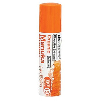 Manuka Honey Lip Balm 5.7ml Dr Organic - Broome Natural Wellness