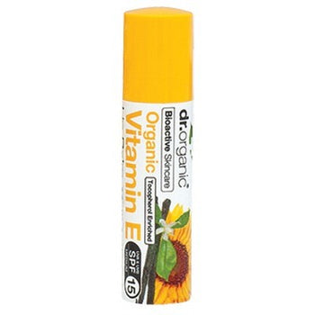 Vitamin E Lip Balm 5.7ml Dr Organic - Broome Natural Wellness
