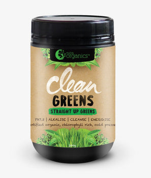 Clean Greens 200g Nutra Organics - Broome Natural Wellness