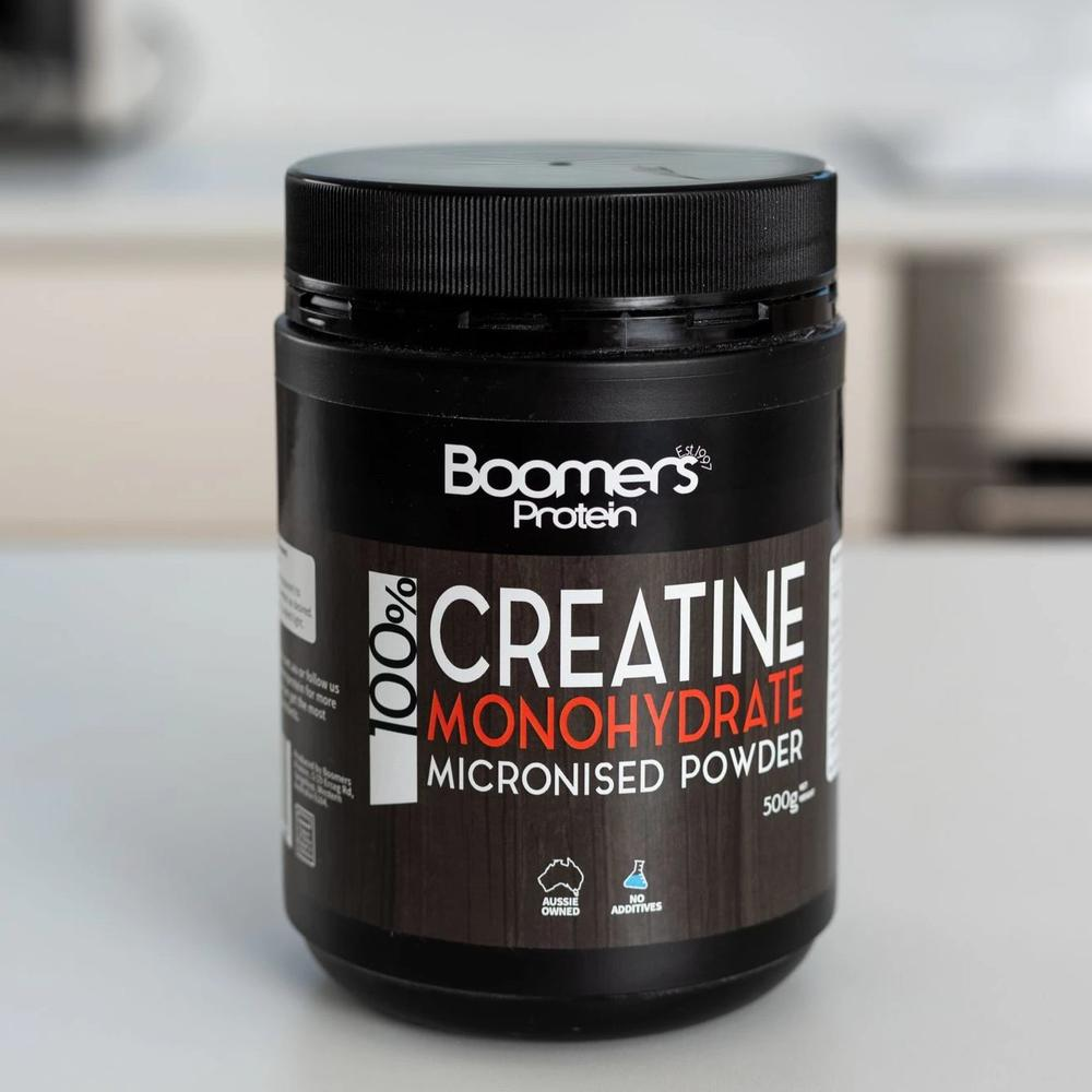 100% Creatine Monohydrate 500g  Boomers - Broome Natural Wellness