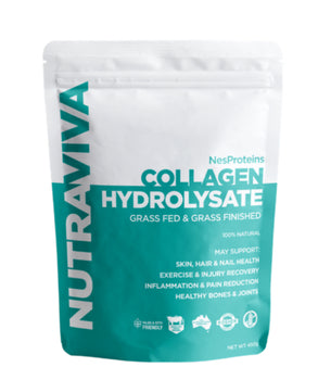 Collagen Hydrolsate Beef 450g NES Proteins Nutraviva - Broome Natural Wellness