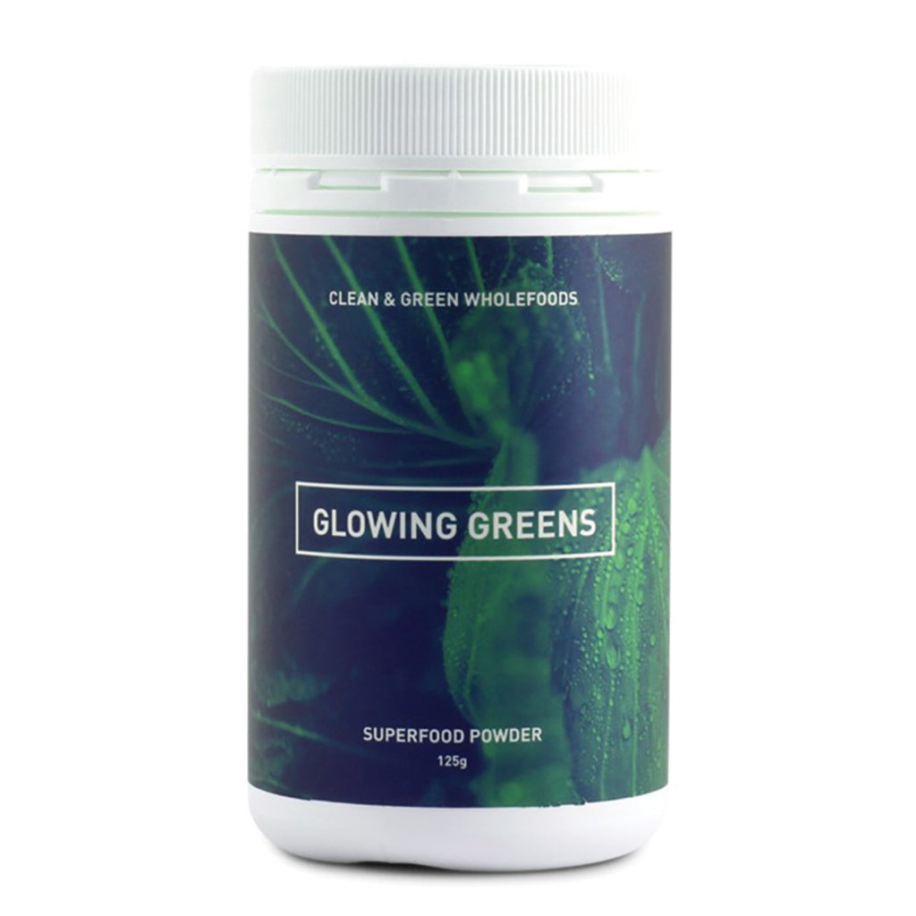 Glowing Greens 125g Clean and Green Wholefoods - Broome Natural Wellness