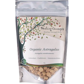 Organic Astragalus Tea 50g Healing Concepts - Broome Natural Wellness