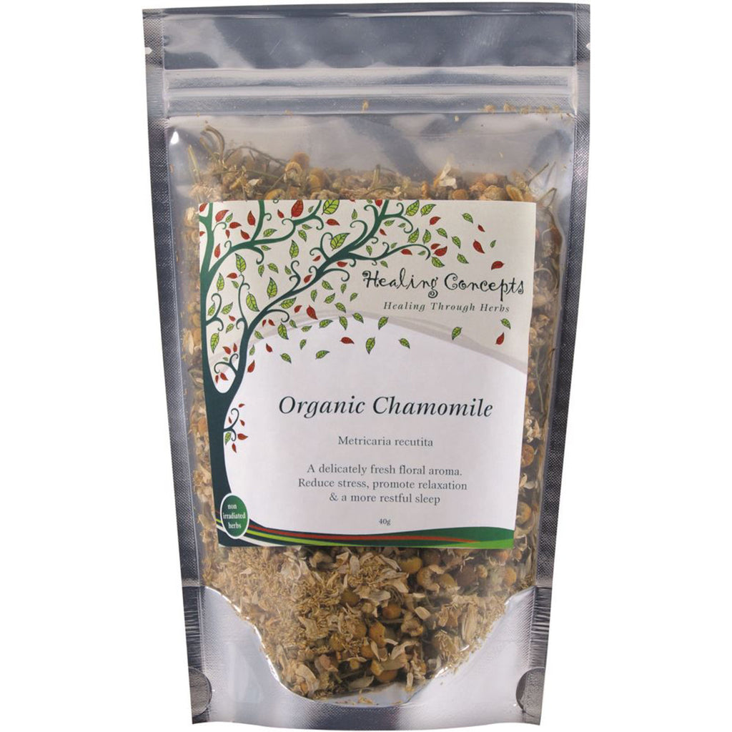 Organic Chamomile Tea 40g Healing Concepts - Broome Natural Wellness