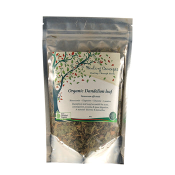 Organic Dandelion Leaf Tea 40g Healing Concepts - Broome Natural Wellness