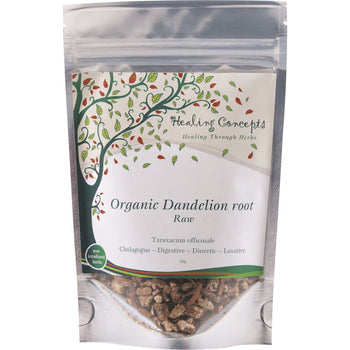Organic Dandelion Root Raw Tea 50g Healing Concepts - Broome Natural Wellness