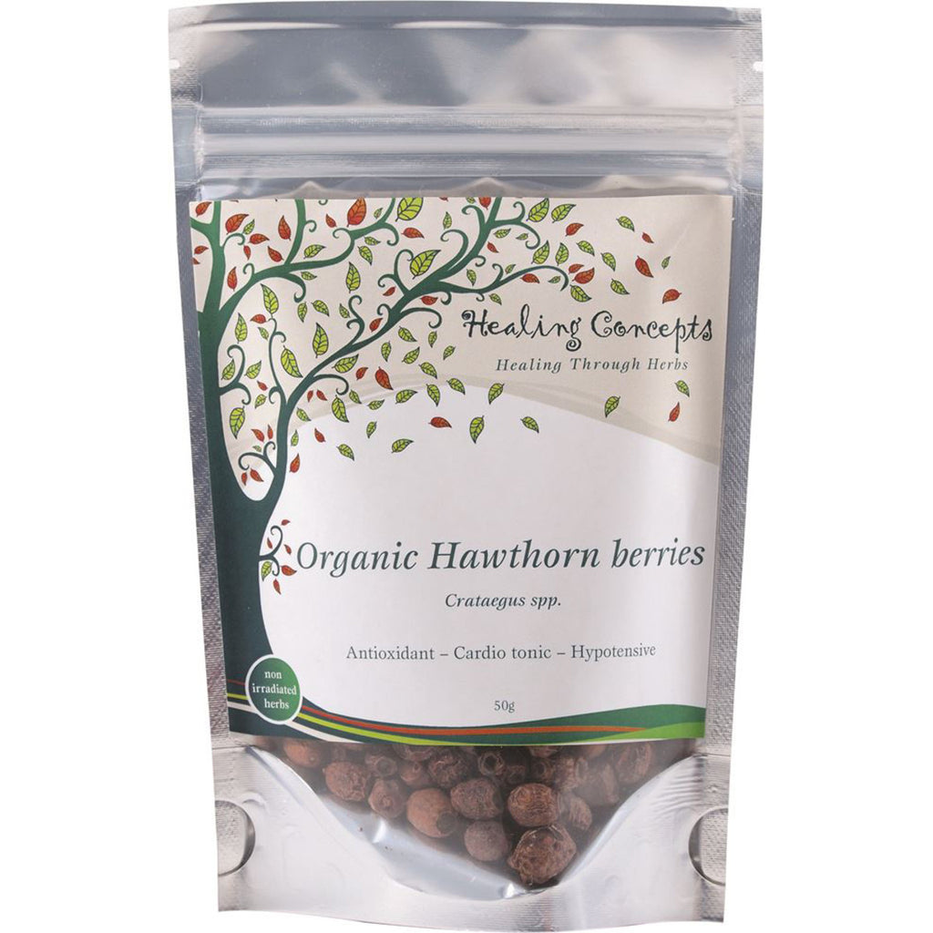 Hawthorn Berries Organic Tea 50g Healing Concepts