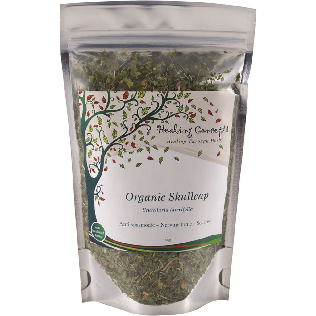 Organic Skullcap Tea 50g Healing Concepts - Broome Natural Wellness