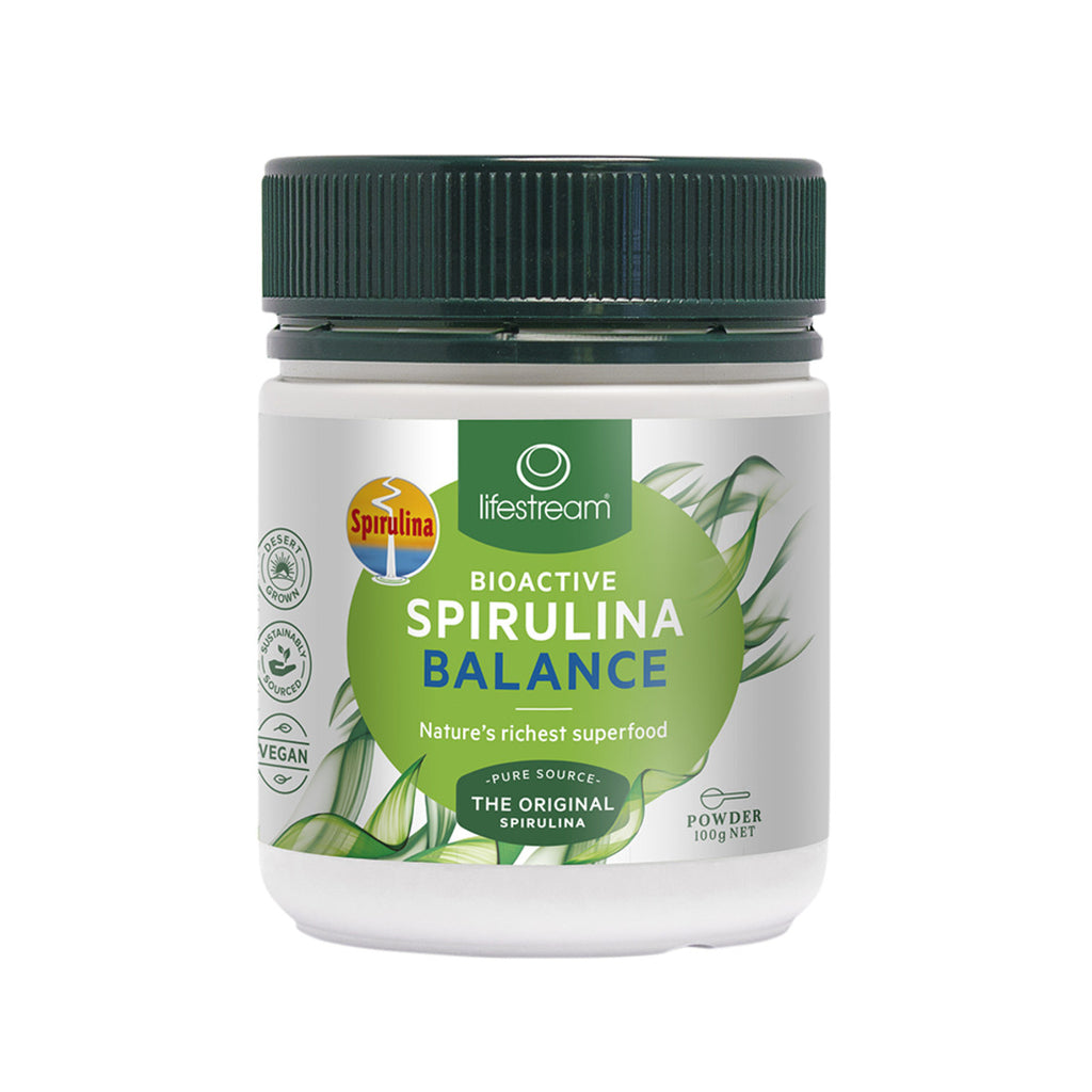 Lifestream Bioactive Spirulina 100g - Broome Natural Wellness