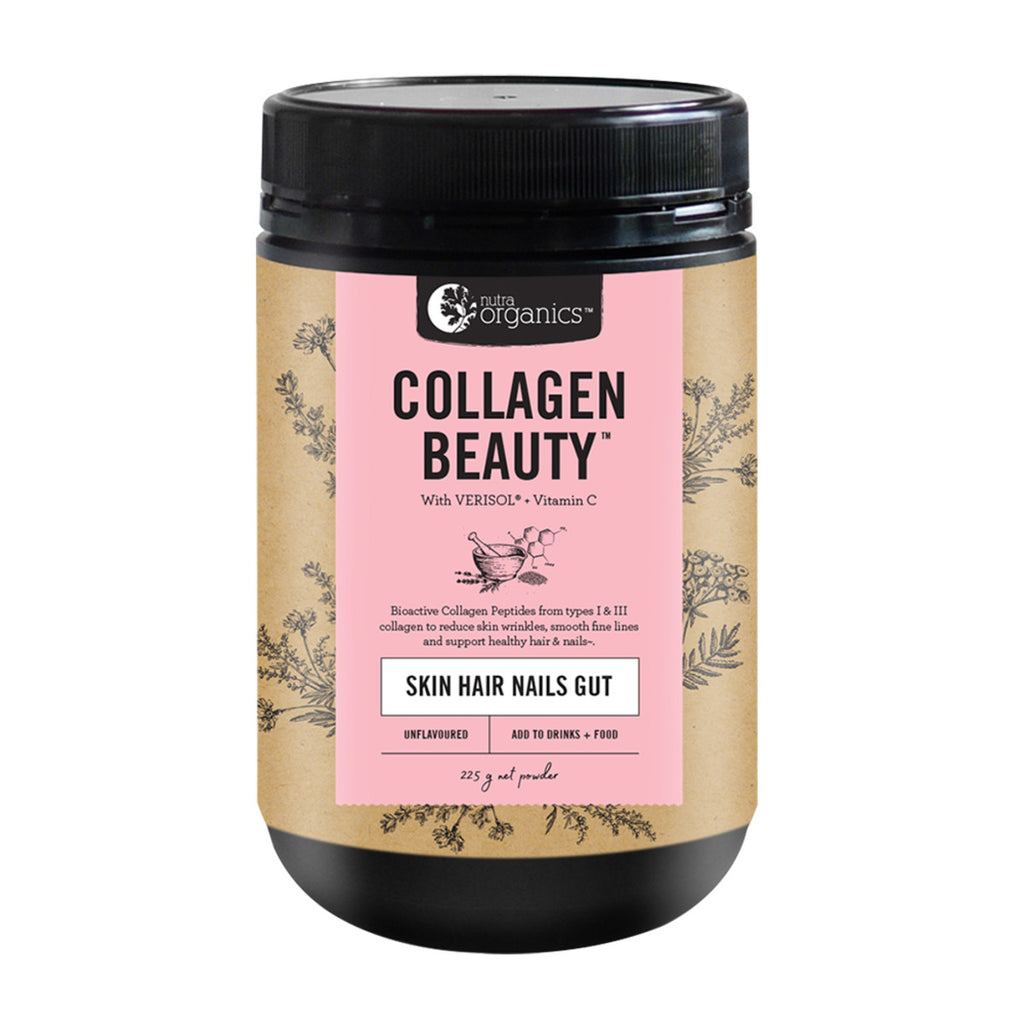 Collagen Beauty 225g Nutra Organics - Broome Natural Wellness