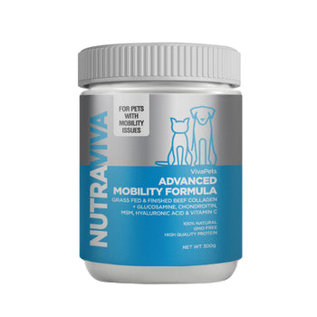 Advanced Mobility Pet Formula 300g Nutraviva - natural pet care australia