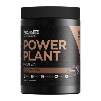 Power Plant Protein Rich Chocolate 500g PranaOn