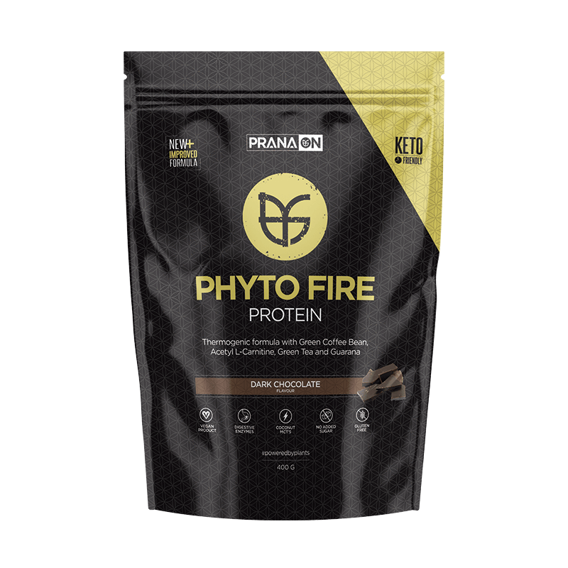 Phyto Fire Protein Dark Choc 400g PranaOn - Broome Natural Wellness
