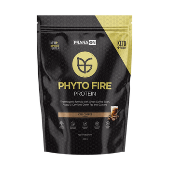 Phyto Fire Protein Iced Coffee 400g PranaOn - Broome Natural Wellness