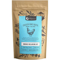 Chicken Bone Broth Homestyle Powder 100g Nutra Organics - Broome Natural Wellness