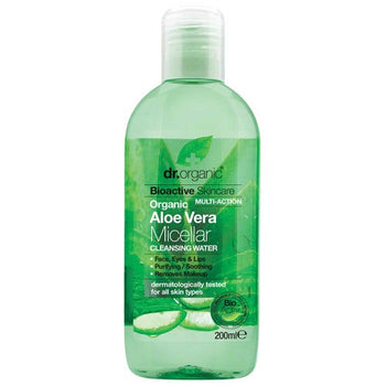 Aloe Vera Micellar Cleansing Water 200ml Dr Organic - Broome Natural Wellness