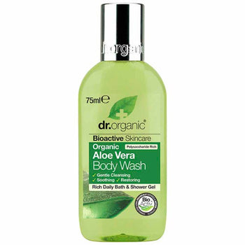Aloe Vera Body Wash (Mini) 75ml Dr Organic - Broome Natural Wellness