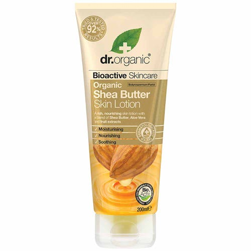 Shea Butter Skin Lotion 200ml  Dr Organic - Broome Natural Wellness