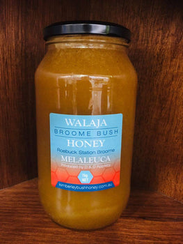 Walaja 1kg 25+ Melaleuca Bush Honey - Broome Natural Wellness