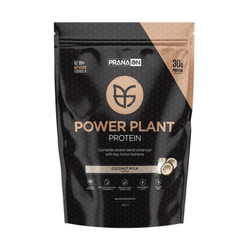Power Plant Protein Coconut Mylk 400g PranaOn - Broome Natural Wellness