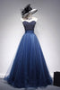 Beading Prom Dresses A Line Sweetheart Long Prom Dress Sexy Evening Dress JKL1128