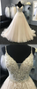 shirleydresses Prom Dresses Spaghetti Straps Sweep Train Beading Long Sparkly Prom Dress