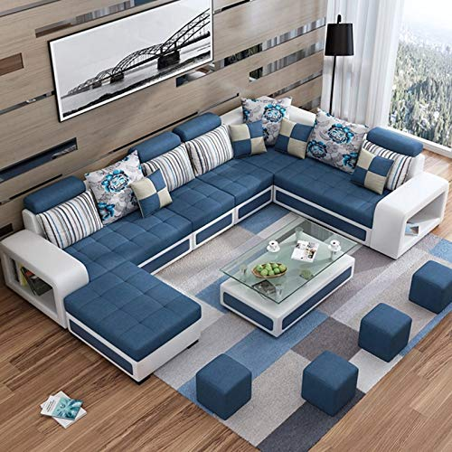 12 Seater Sectionals and Loveseats Wood Sofa Set