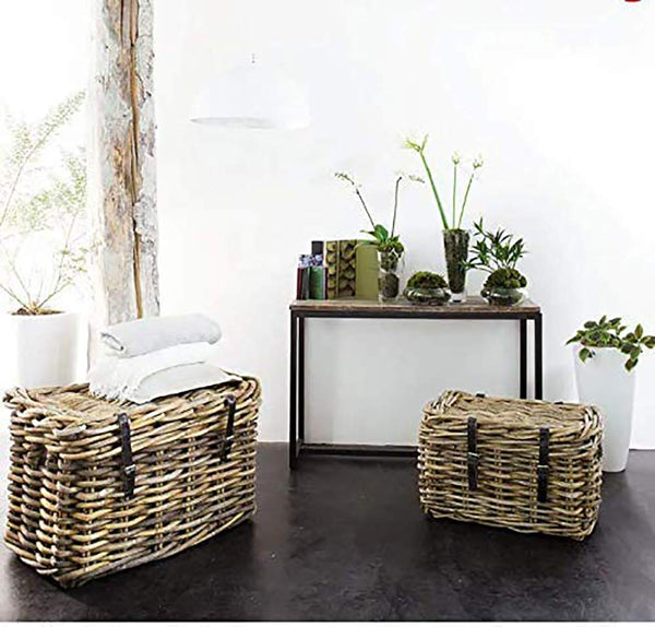 Metal Frame Solid Wood Console Table