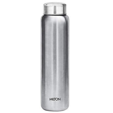 Milton Aqua 1000 Stainless Steel Water Bottle, 930 ml, Silver