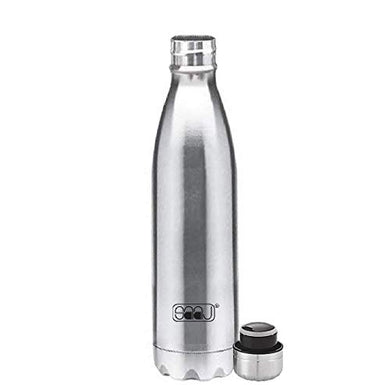 Saaj Oxygen Thermos Stainless Steel #304 Vacuum Bottle with 24 Hours Hot/Cold Insulated Thermosteel Bottle (1000 ml)