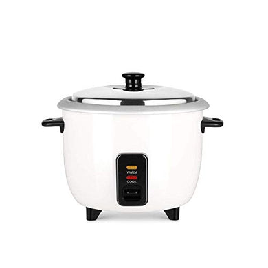 Pigeon by Stovekraft Joy Rice Cooker with Single pot, 1 litres. A smart Rice Cooker for your own kitchen (White)