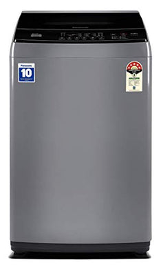 Panasonic 8 Kg 5 Star Fully-Automatic Top Loading Washing Machine (NA-F80LF1HRB, Grey)