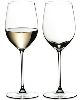 Ash & Roh Wine Glass - Ideal for White or Red Wine Party Glass, Whisky Glass, Clear Glass, 400 ml, Set of 2 - Home Decor Lo