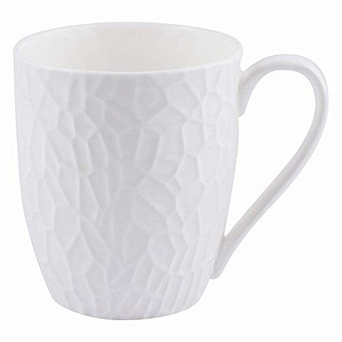 Pearl Marvel Fine Tableware Bone China Coffee Mug/Milk Mug for Home/Office/Gifts, 300 ml - (Set of 4)