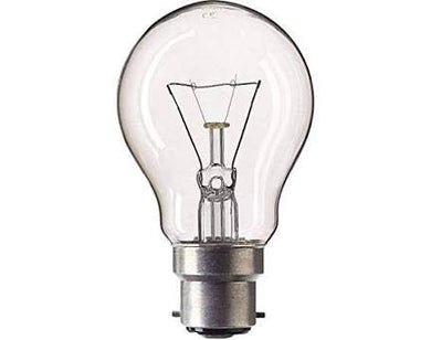 Philips Clear GLS Incandescent Bulb (Pack of 4) (60)