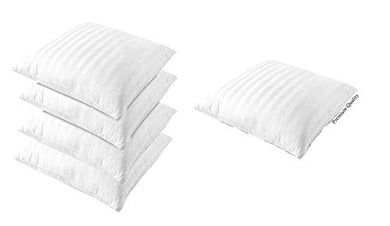 bhagwati diwan Set of 5 Cushion 16X16 Microfiber (Pack of 5 Cushion ) White