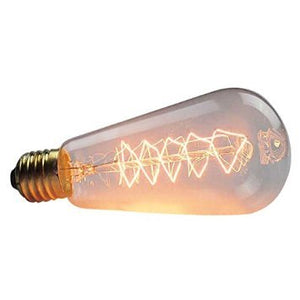 Vintage Edison Dimmable Tungsten Decorative Spiral Shape Filament: Pack Of 2 - Home Decor Lo