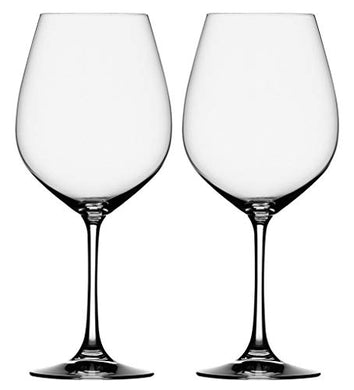 Cloudsell Glass Wine Glass - 2 Pieces, Clear, 465 ml